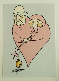 Mummo ja Ukki -kortti 2e
