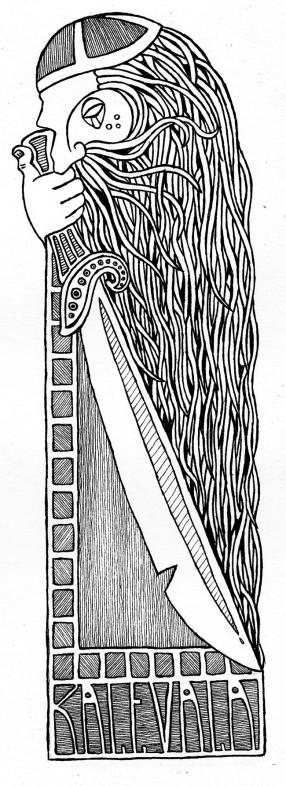 Kalevala theme Bookmark, 2009